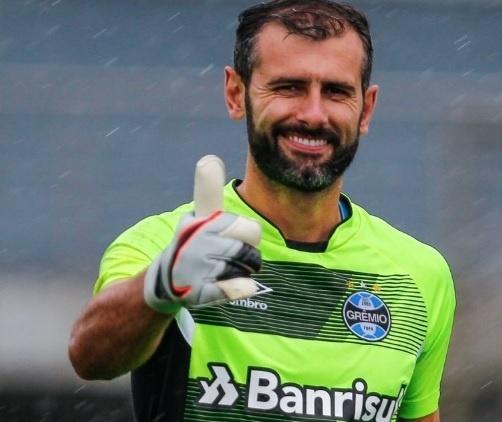 Bruno Grassi, goleiro do Grêmio
