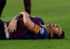 Messi volta ao Barcelona depois de três semanas parado - REUTERS/Albert Gea