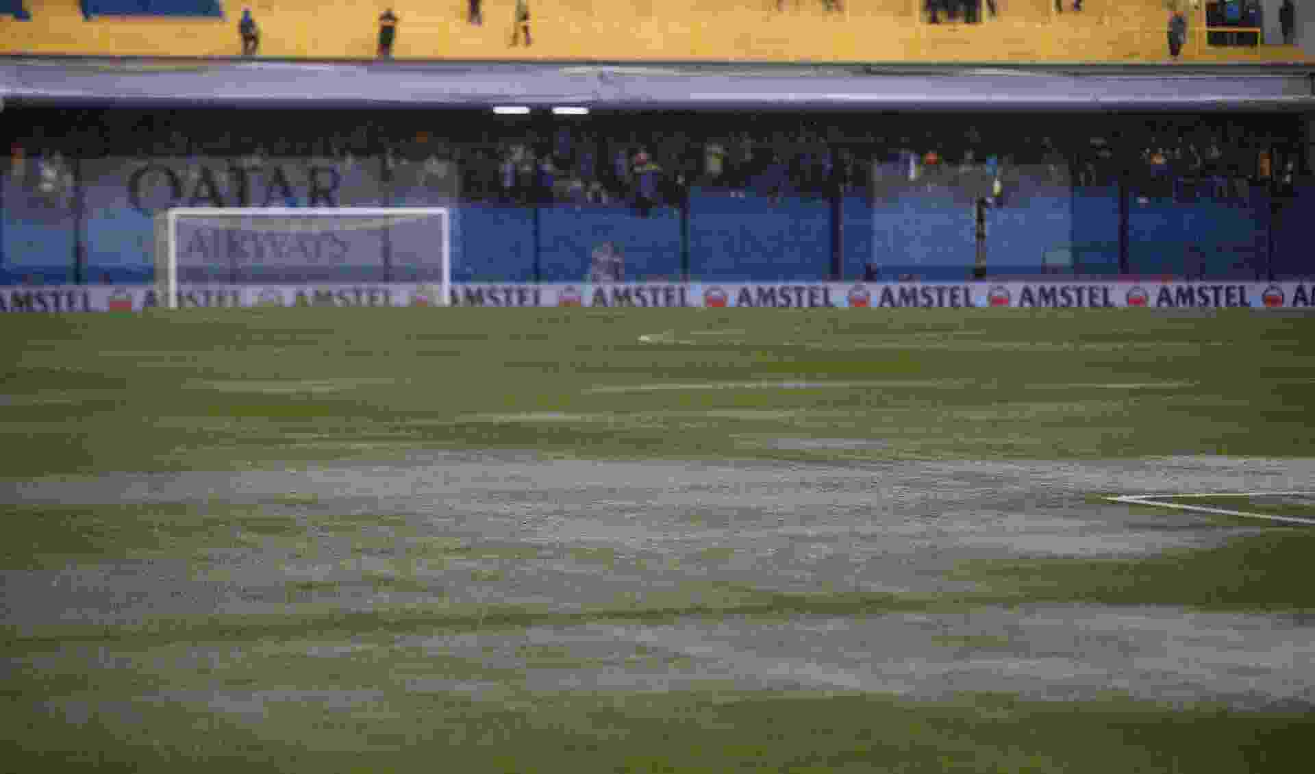 Final da Libertadores está ameaçada pela chuva - REUTERS/Agustin Marcarian