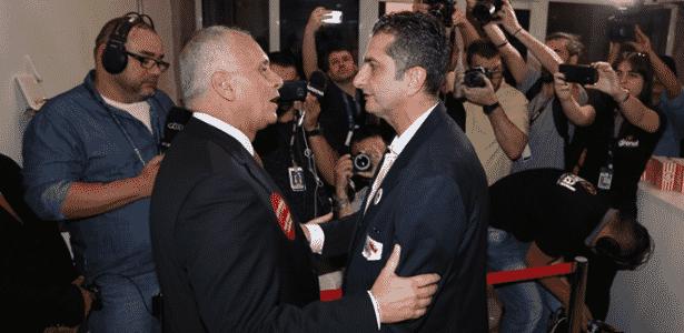 Marcelo Medeiros e Luciano Davi disputam a presidência do Internacional - Ricardo Duarte/Inter