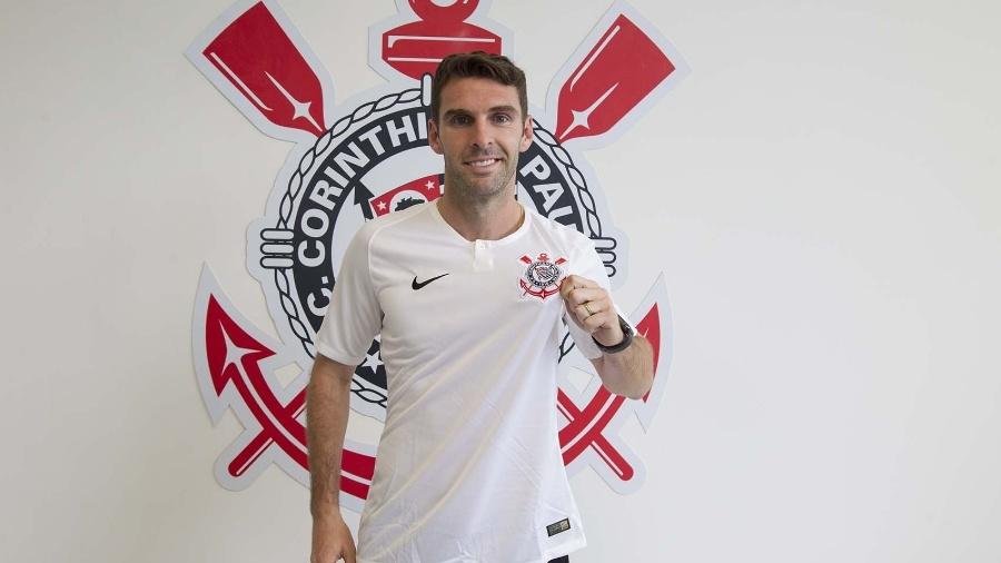 Mauro Boselli é apresentado como reforço do Corinthians para 2019 - Daniel Augusto Jr/Ag. Corinthians