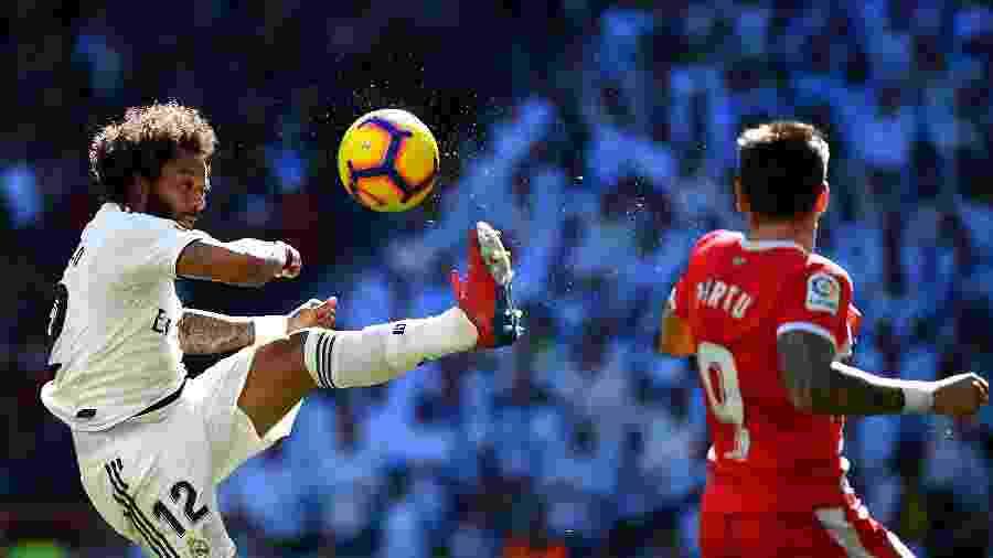 Marcelo não vem atuando no Real Madrid - Gabriel Bouys/AFP