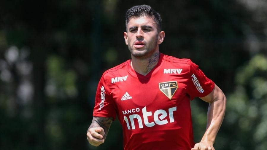 Liziero, volante do São Paulo - Marcello Zambrana/AGIF