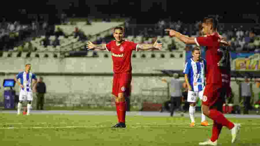 Paolo Guerrero é arma do Inter contra o Nacional em jogo de ida das oitavas de final - Thiago Gomes/AGIF