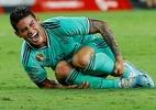 James Rodríguez deve perder restante do ano devido a lesão no joelho - MARCELO DEL POZO/Reuters