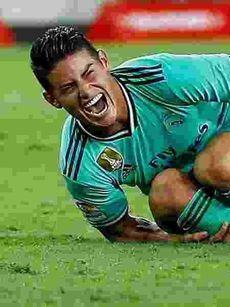 James Rodriguez está em baixa no Real Madrid - MARCELO DEL POZO/Reuters