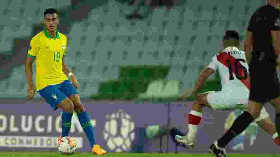 Reinier está concentrado com a seleção brasileira sub-23 no Pré-Olímpico - Lucas Figueiredo/CBF