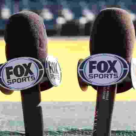Microfones do Fox Sports - Divulgação