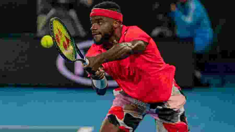 O tenista Frances Tiafoe cita falta de diversidade no tênis e faz campanha antirracista após a morte de George Floyd - Andy Cheung/Getty Images