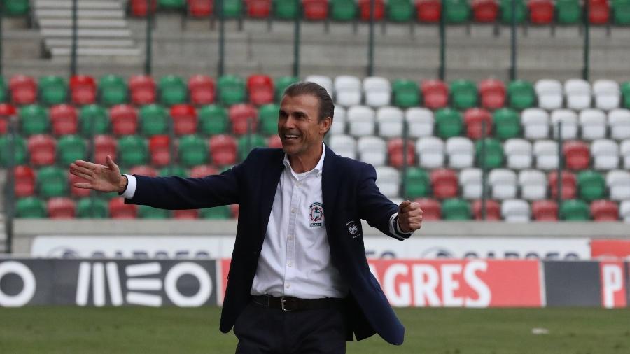 Milton Mendes é o técnico do Marítimo, time em alta no Campeonato Português - Divulgação