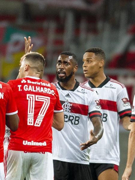Internacional x Flamengo empataram por 2 x 2 pela 18ª rodada do Brasileirão 2020 no Beira-Rio - Marcelo Cortes/Flamengo