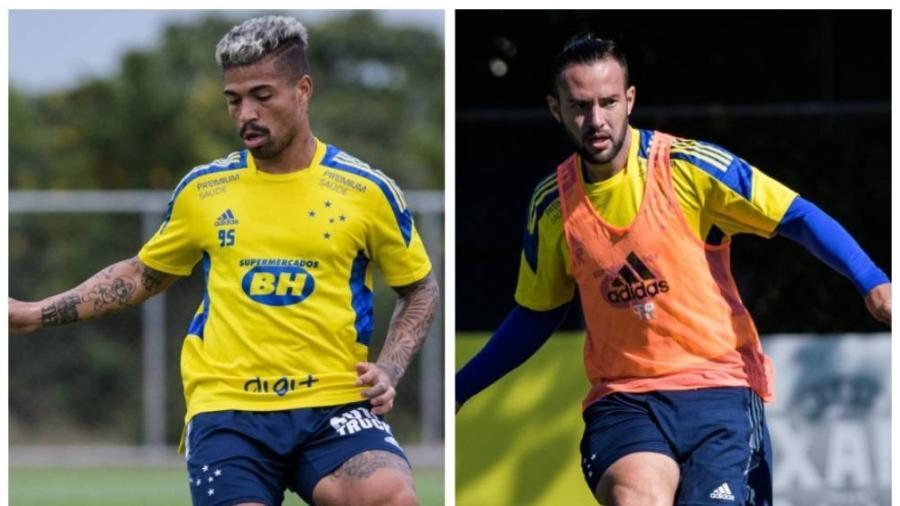 Marcinho e Giovanni Piccolomo voltam a ser opções no Cruzeiro após saída de Felipe Conceiçao - Gustavo Aleixo/Cruzeiro