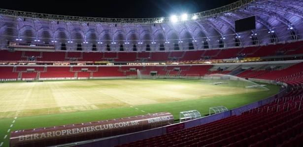 Troca de gramado do Beira-Rio obrigou Inter a procurar outro local para treinar