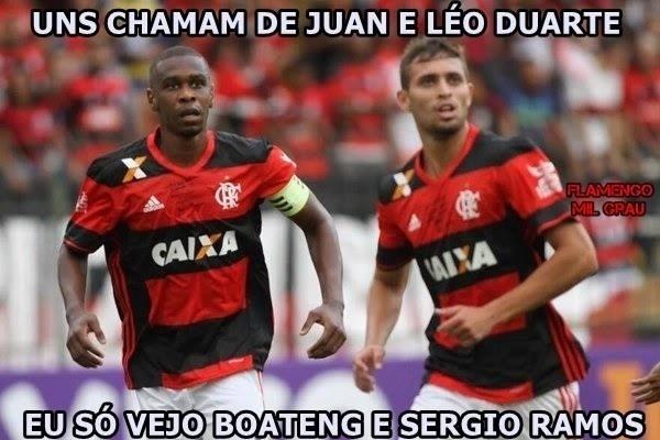 Sem Wallace, o Flamengo estreou nova dupla de zaga, agora com Léo Duarte. A torcida aprovou