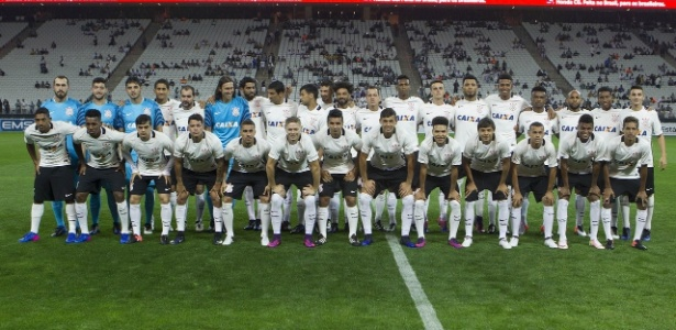 Elenco do Corinthians no começo do ano: Carille já usou 80% do grupo