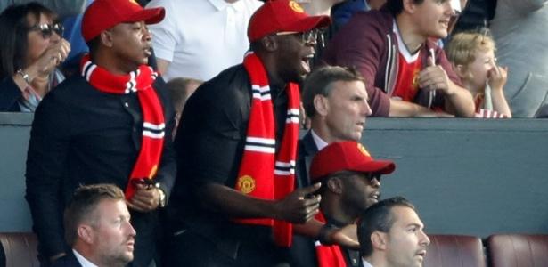 Bolt é torcedor do Manchester United - CARL RECINE/Action Images via Reuters