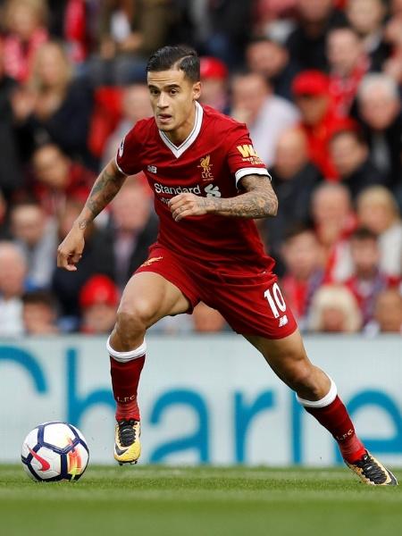 Philippe Coutinho retorna ao time do Liverpool contra o Burnley - REUTERS/Phil Noble