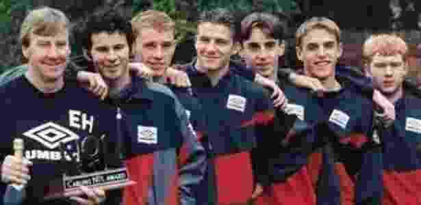 Beckham publica foto de quando era juvenil no Manchester United - Reprodução Instagram
