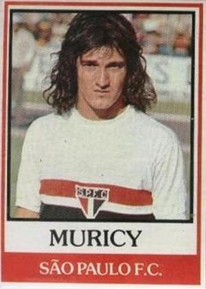 MURICY RAMALHO, campeão brasileiro pelo São Paulo como jogador e treinador, hoje é comentarista de TV