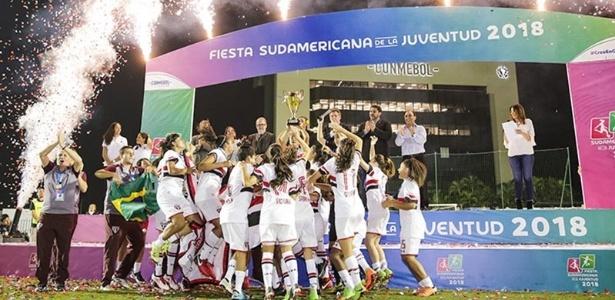 Parceria com o Centro Olímpico rendeu o terceiro título para o São Paulo