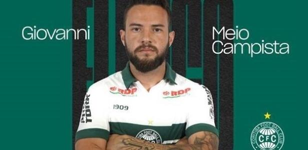Giovanni chega para ser o meia do Coritiba - Cmunicação CFC