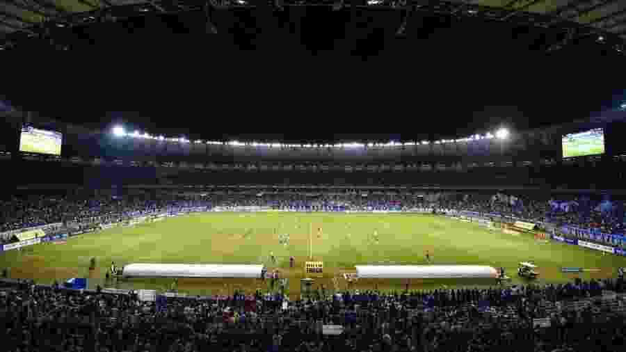 Estádio Mineirão em jogo do Cruzeiro - Divulgação/Mineirão