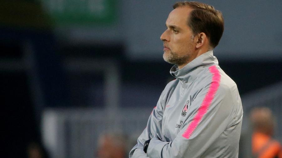PSG Thomas Tuchel Montpellier - Jean-Paul Pelissier/Reuters
