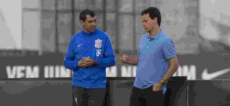 Treinadores jogaram bola juntos na infância, agora estão em lados opostos no São Paulo x Corinthians - Daniel Augusto Jr./Ag. Corinthians