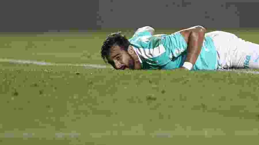 Atacante disputou apenas quatro jogos pelo Palmeiras em 2019 - Marcello Zambrana/AGIF