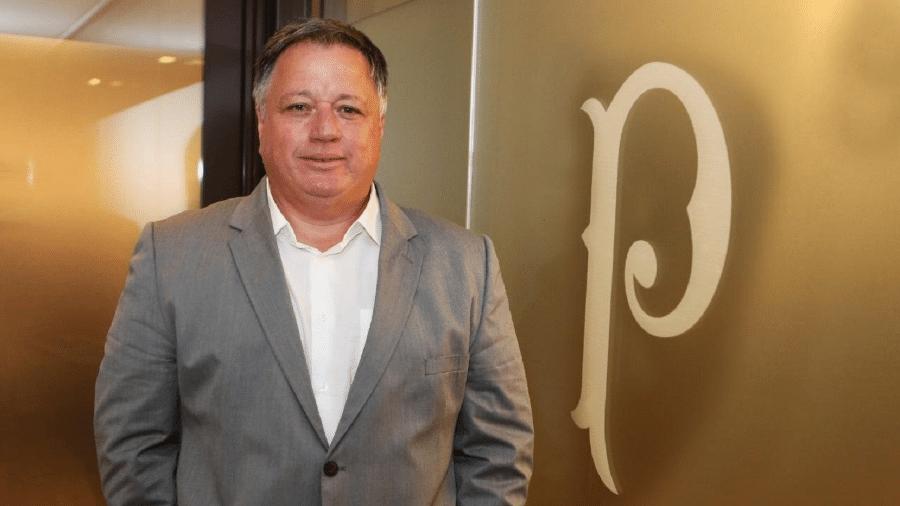 Anderson Barros, novo diretor de futebol do Palmeiras - Fabio Menotti/Ag. Palmeiras/Divulgação