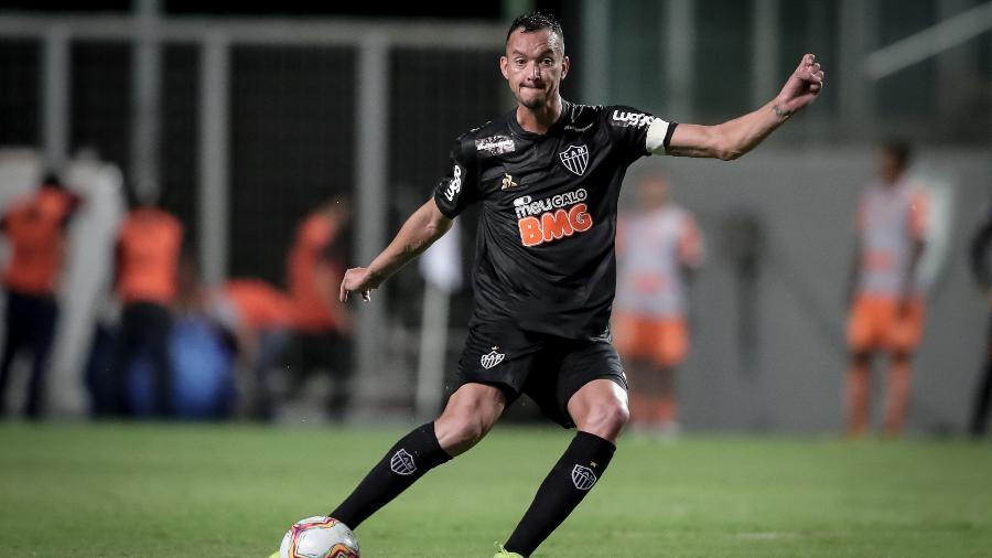 Capitão do Galo citou importância de Cazares estar feliz para jogar futebol - Bruno Cantini/Divulgação/Atlético-MG