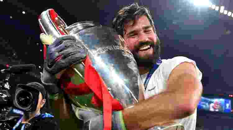 Alisson top5 Inglaterra Blog do Julio Gomes - Harold Cunningham - UEFA/UEFA via Getty Images - Harold Cunningham - UEFA/UEFA via Getty Images