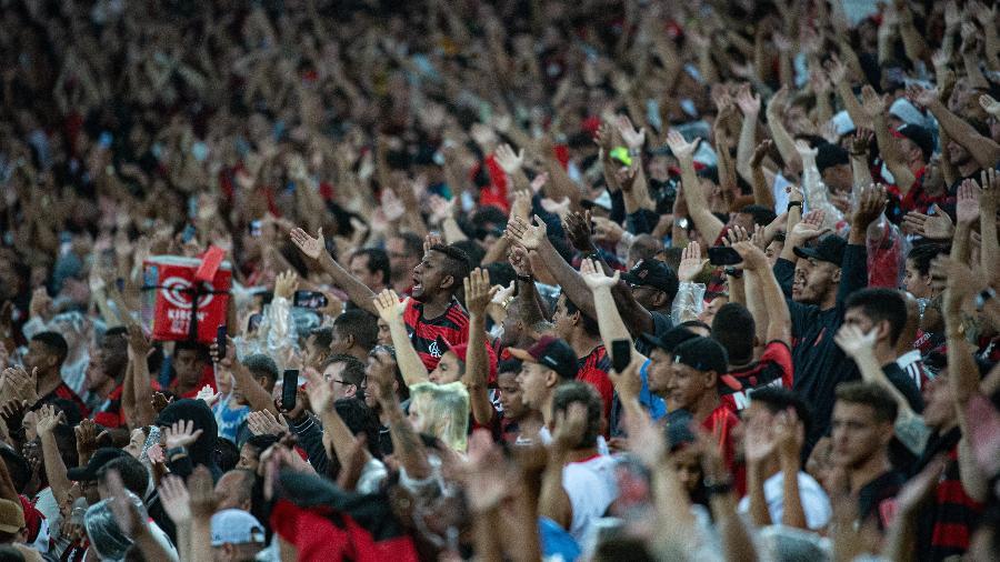 Torcida do Flamengo entoou cânticos homofóbicos no Fla-Flu e foi denunciada pelo TJD-RJ - Alexandre Vidal/Flamengo