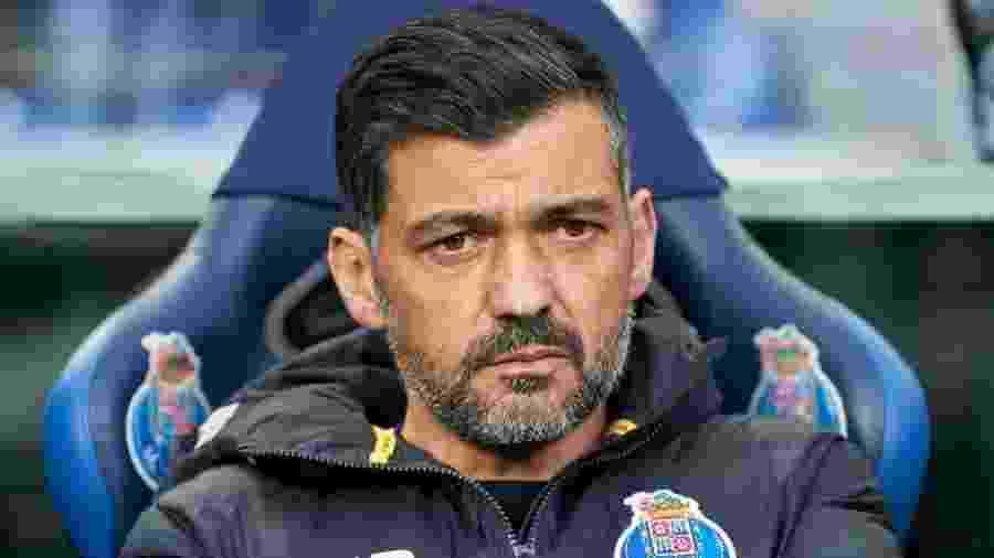 Sérgio Conceição, técnico do Porto - Jose Manuel Alvarez/Quality Sport Images/Getty Images