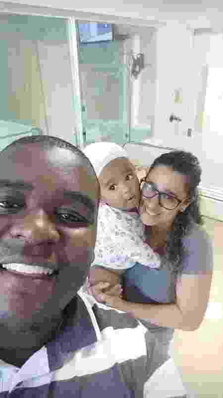 Família do pequeno Enzo recebeu ajuda de Honda, meia do Botafogo - Arquivo Pessoal - Arquivo Pessoal