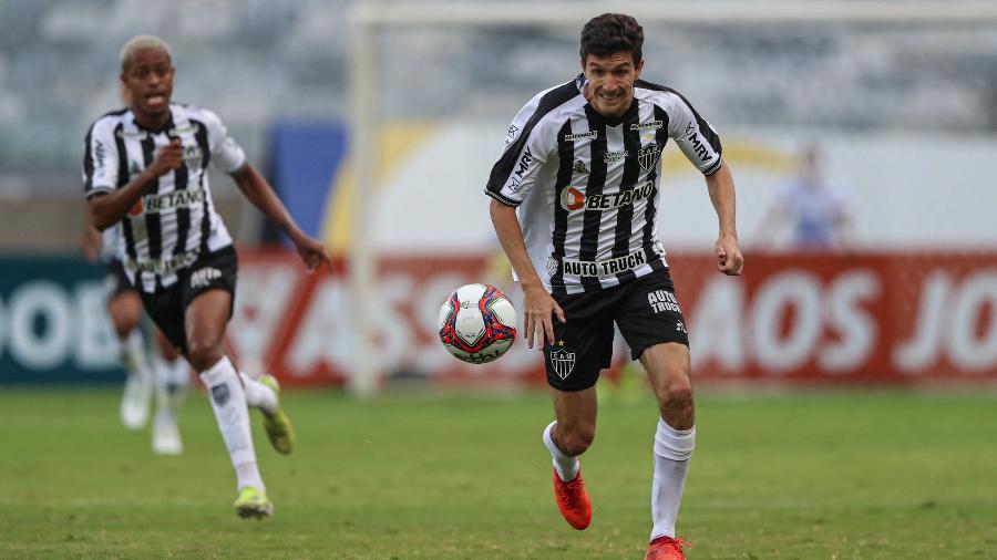 Nacho Fernández espera que o Atlético-MG melhore nas próximas partidas da Copa Libertadores - Pedro Souza/Atlético-MG