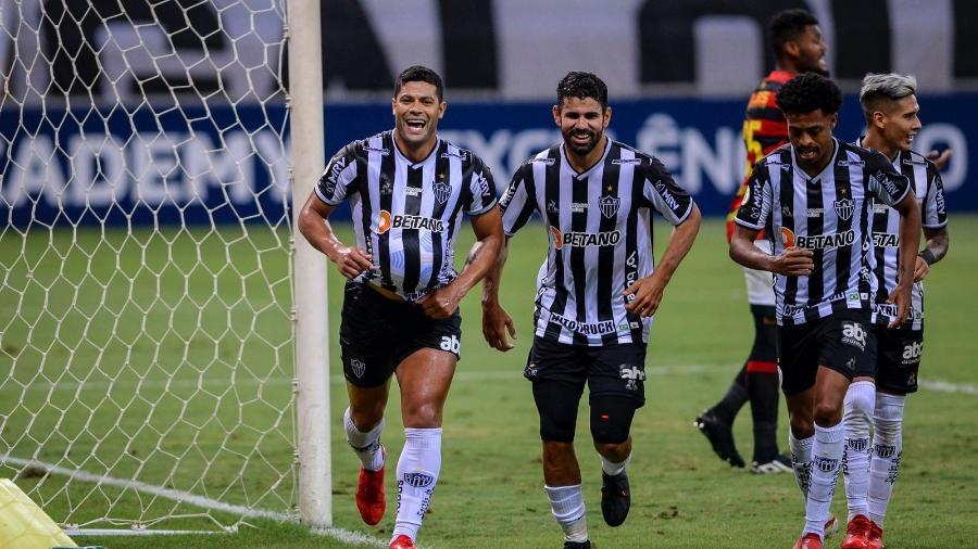 Sem Diego Costa, Keno e Savarino, Atlético-MG terá Hulk como grande destaque no setor ofensivo no Morumbi - Agência I7/Mineirão