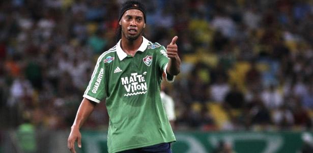 Ronaldinho Gaúcho participará de ao menos 45 minutos nas partidas da Florida Cup