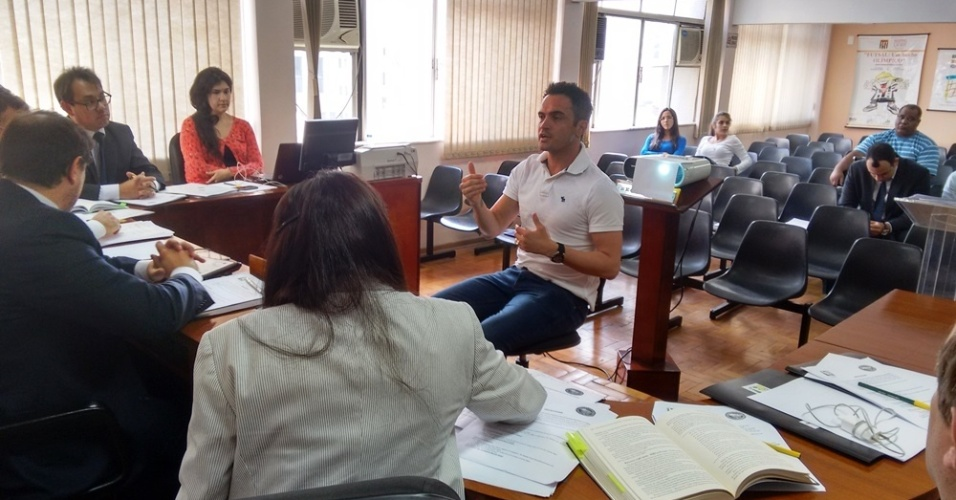 Falcão dá depoimento em julgamento por incidente na partida Carlos Barbosa x Brasil Kirin