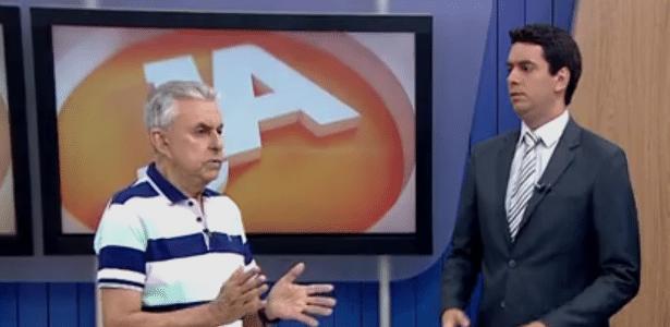 Roberto Alves e Raphael Faraco comentam derrota do Figueirense na Copa do Brasil - Reprodução