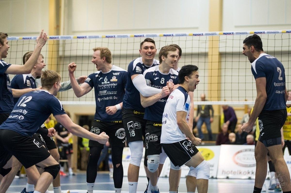 O Lakkapaa Rovaniemi disputa a primeira divisão da liga finlandesa
