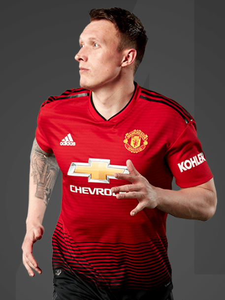 Phil Jones, zagueiro do Manchester United