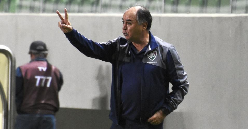 Marcelo Oliveira elogiou entrega dos jogadores diante da sequência de jogos e viagens