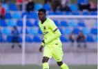 Lateral do Barça B que agrediu torcedor diz ter sofrido cânticos racistas - Instagram/Moussawague15