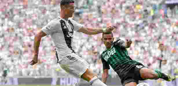 Rogério e Cristiano Ronaldo - Daniele Badolato/Juventus FC via Getty Images - Daniele Badolato/Juventus FC via Getty Images