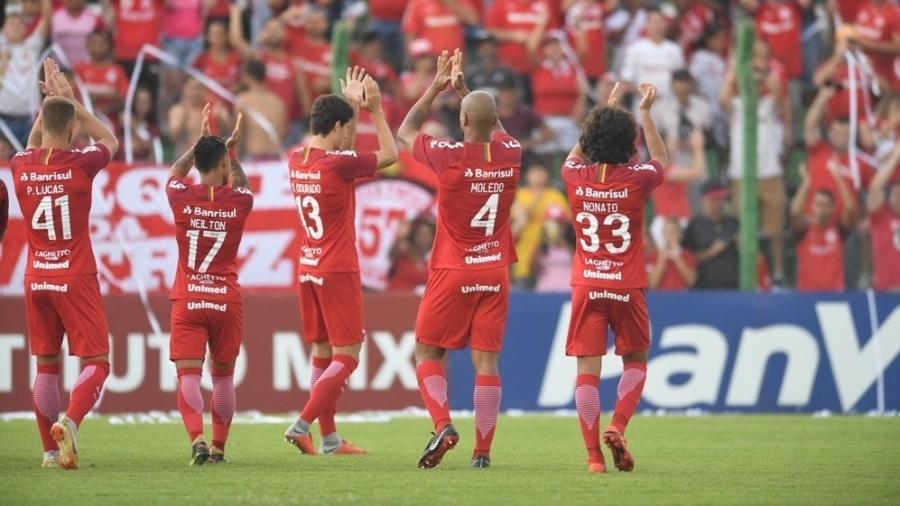 Internacional enfrenta o Avenida pelo Campeonato Gaúcho 2019 - Ricardo Duarte/SC Internacional