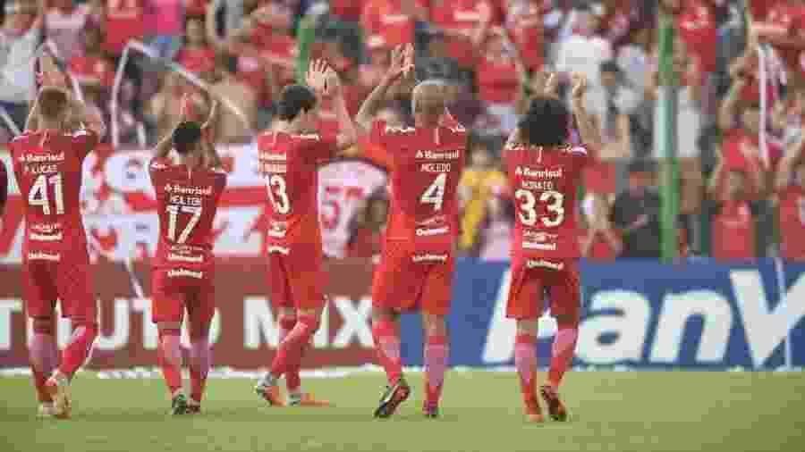 Time gaúcho não vencia quatro partidas consecutivas desde agosto do ano passado - Ricardo Duarte/SC Internacional