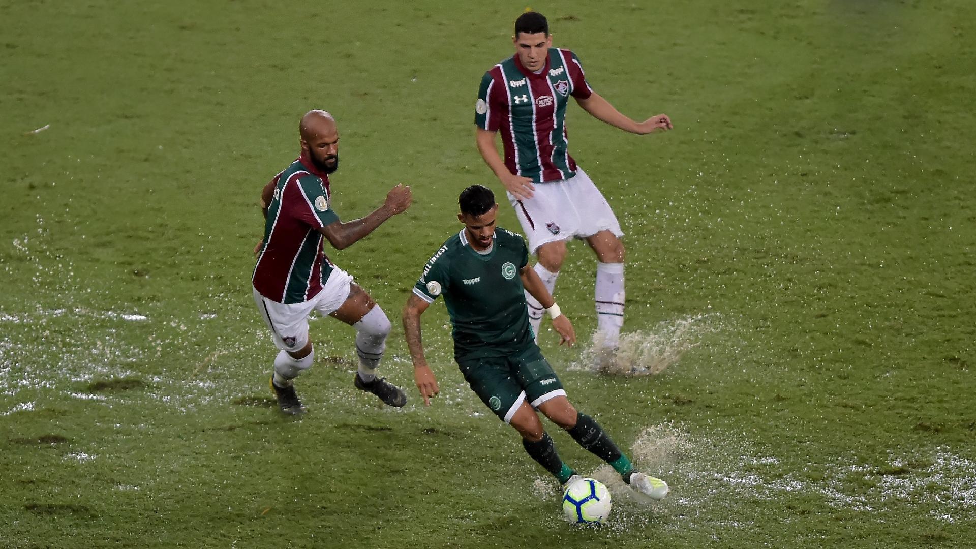 Fluminense x Goiás no Maracanã pelo Campeonato Brasileiro 2019