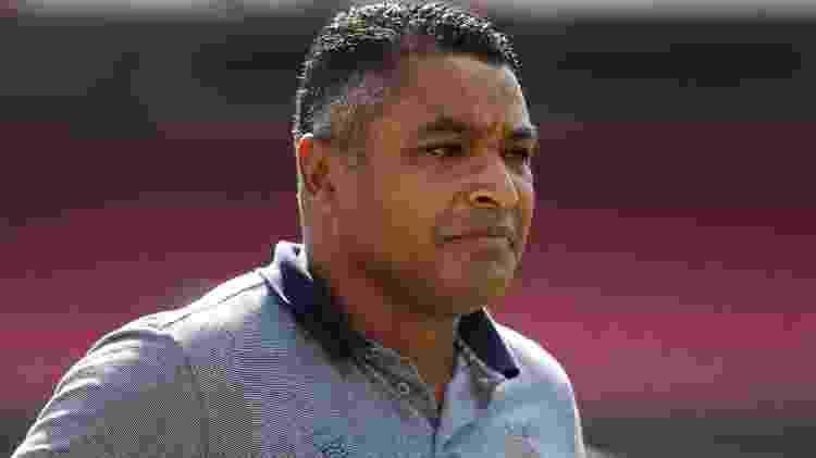 Roger Machado está no Bahia desde 2 de abril  - Marcello Zambrana/Agif