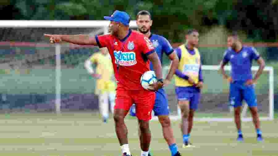 Hoje no Bahia, Roger Machado agrada `à diretoria do Cruzeiro - Felipe Oliveira / EC Bahia